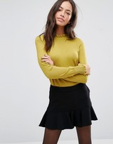 Oasis Cute Frill Knitted Sweater