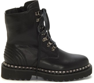 Vince Camuto Allizah Studded Moto Boot