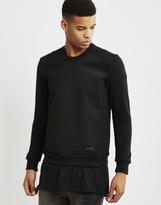 Religion Recoil Panel Sweatshirt Black