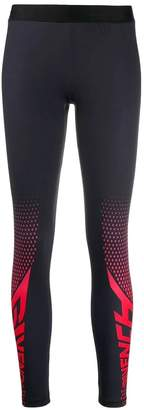 Givenchy two tone leggings black/red