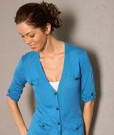 Roll-Up Sleeve Tunic Cardigan