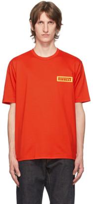 Junya Watanabe Red Pirelli Patch T-Shirt