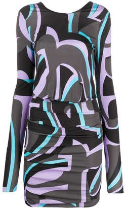 Emilio Pucci x Koche Pula ruched mini dress