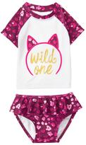 Gymboree Wild One Rashguard Set