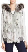 Jocelyn Fox & Rabbit Fur Vest