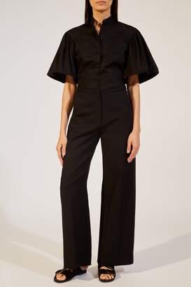 KHAITE The Charlize Pant in Black