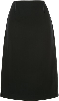 Marni High Waisted Straight Skirt