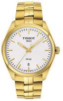 Tissot Goldtone Stainless Steel PR 100 Watch