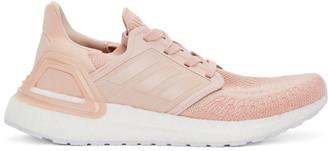 adidas Pink UltraBOOST 20 Sneakers