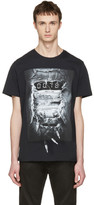 Diesel Black T-Joe-OA 'Party Time' T-Shirt
