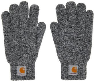 Carhartt Work In Progress Black and White Scott Gloves