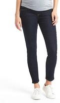 Gap Maternity full panel true skinny jeans