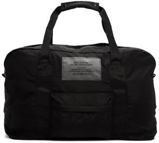 Diesel Black Packable Dupak Duffle Bag