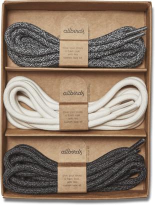 Allbirds Runner Lace Kit - Natural Grey + Natural White + Natural Black