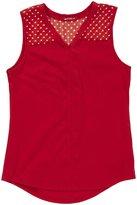 LAmade Kids Abbey Shirt (Toddler/Kid) - Apple Red-5