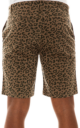 Obey The Desert Chino Shorts in Army