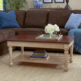 Three Posts Classic Two Tone Coffee Table
