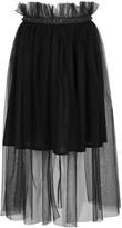 Mother of Pearl Delphia Black Tulle Skirt