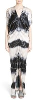 Zero Maria Cornejo Women's Kou Elliott X-Ray Stretch Silk Dress