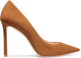 Jimmy Choo Romy Suede Point-toe Pumps - Tan