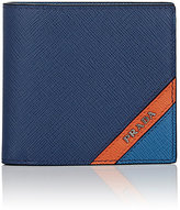 Prada Men's Logo-Corner Slim Billfold