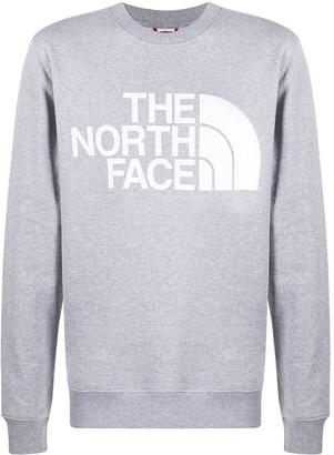 The North Face Logo Print Round Neck Sweatshirt