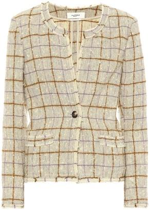 Etoile Isabel Marant Lyra wool-blend tweed jacket