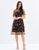 Dorothy Perkins Rose Embroidered Dress