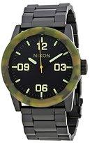 Nixon Men's Private Ss Watch in Color: Matte / Camo