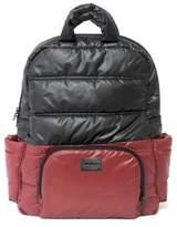 Infant 7 A.m. Enfant Bk718 Water Repellent Diaper Backpack - Black