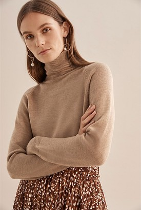 Country Road Verified Merino Wool Roll Neck