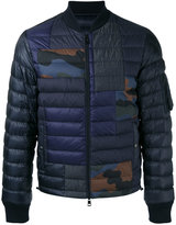 Moncler camouflage-patch zip frontquilted jacket - men - Cotton/Polyamide/Spandex/Elastane/Goose Down - 3