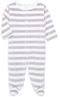 Kissy Kissy Baby's Striped Velour Footie