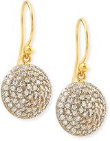 Gurhan Lentil Ice 24k Gold & Diamond Dangle Earrings