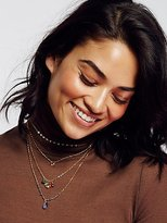 A.V. Max Delicate Quad Tiered Necklace by at Free People