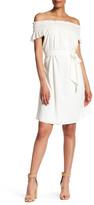 Lands' End Canvas Lands& End Canvas Off-the-Shoulder Smocked Dress
