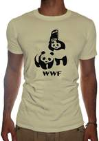 SubWorks Ltd. Mens Wrestling Panda WWF T-SHIRT