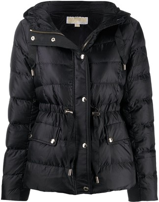 MICHAEL Michael Kors Hooded Puffer Jacket