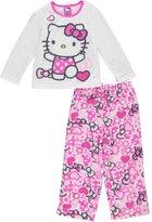 """Hello Kitty Little Girls' Toddler """"Swimsuit Fun"""" 2-Piece Pajamas - , 3t"""
