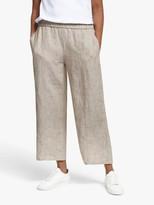 Eileen Fisher Organic Linen Trousers, Khaki