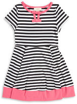 Kate Spade Girls 2-6x Striped Fit-and-Flare Dress