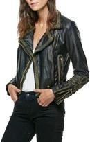 Free People Bang Bang Faux Leather Jacket