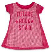 """Amy Coe Size 3M """"Future Rock Star"""" Dress in Hot Pink"""