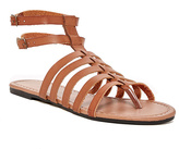 Charles Albert Cognac Strappy Gladiator Sandal