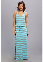 C&C California Sandwashed Stripe Maxi Dress