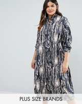 Koko Plus Longline Shirt Dress