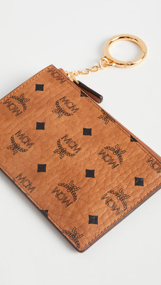 MCM Visetos Original Key Wallet