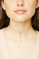 Forever 21 FOREVER 21+ Triangle Chain Link Choker