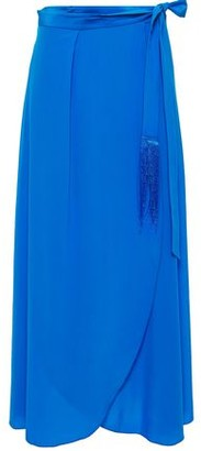 Forte Forte Silk Crepe De Chine Maxi Wrap Skirt