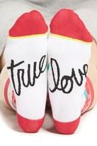 Women's Woven Pear True Love Crew Socks